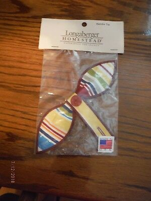 Longaberger Homestead Basket Handle Tie - New in bag -- Made in USA