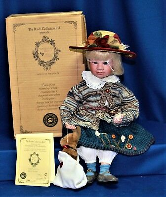 The Boyds Collection The Yesterdays Child Doll Collection Ashley 4957 922/2500
