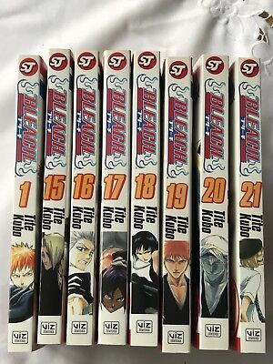 bleach manga collection