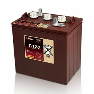 Cyclic Battery Trojan 240Ah 6V T-125 for Solar, Photovoltaic, Stand-Alone