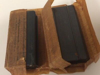 WWII S O marked M1 Carbine Magazines NOS With Carrier