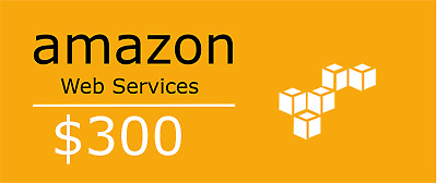 Aws Credits 300$ Code for Amazon Web Services EC2 SQS RDS Promocode