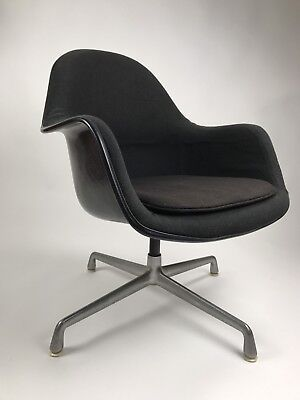 Eames EA178 Herman Miller Loose Cushion Arm Chair Mid Century Modern & EAMES EA178 HERMAN Miller Loose Cushion Arm Chair Mid Century Modern ...