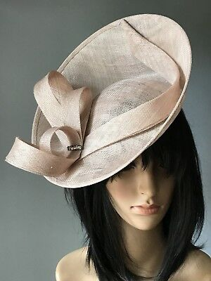 d84f8922 NIGEL RAYMENT BLACK WEDDING ASCOT DISC FASCINATOR Mother Of The Bride Hat  Women's Accessories Clothes, ...