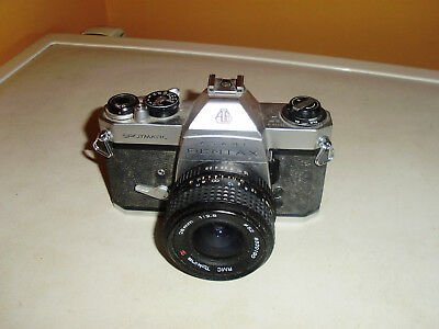 Vintage Asahi Pentax Spii Spotmatic Slr Film Camera Good