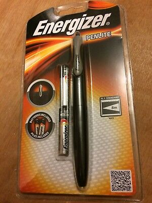 Brand New Sealed Energizer Penlite Mini Torch For Bag Or Pocket