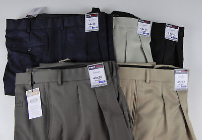 729975fbd Roundtree & Yorke Travel Smart Ultimate Comfort Stretch NWT Pleated Dress  Pants