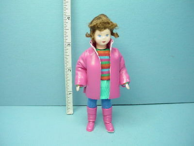 """Miniature Young Girl """"Louisa"""" #10301 Dollhouse Doll,Handcrafted Erna Meyer 12th"""