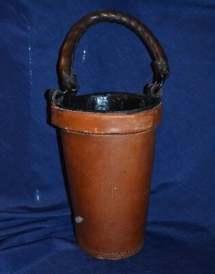 """Colonial Williamsburg """"leather Fire Bucket"""""""