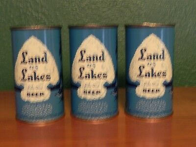 Land of Lakes Beer - all 3 cans!