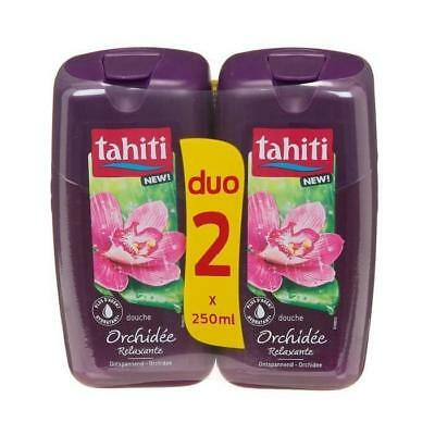 Tahiti Lot De 2 Gels Douche Orchidée - 250 Ml