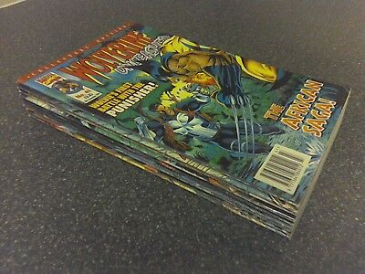 Marvel Comics UK - Wolverine Unleashed Pack 1 (of 4) - 9 Issues - Very Good