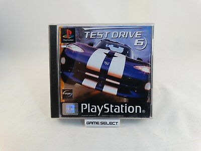 Test Drive 6 Sony Playstation 1 2 3 One Ps1 Ps2 Ps3 Psx Pal Italiano Completo