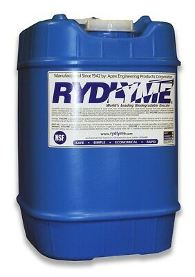 5 Gallons of Rydlyme descaling chemical-Non-Hazardous, Biodegradable, Effective!