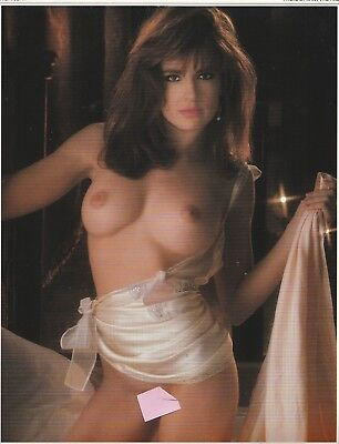 Original  TYLYN JOHN  Playboy Playmate Calendar Page  November  1993