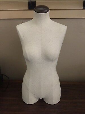 (Used) half body mannequin, female torso, cloth, LOCAL PICK UP HOLLYWOOD, CA