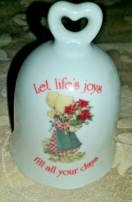 Holly Hobbie porcelain bell