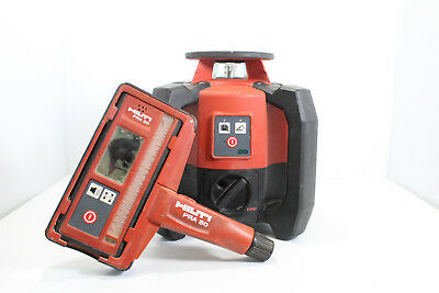 Hilti PR 2-HS Rotating Laser With Laser Detector and Holder