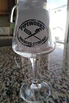Pipeworks Brewing Co Ninja TEKU Glass RARE Chicago craft beer