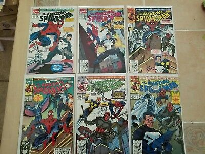 ( 6 ) NM **Amazing Spider-Man  # 353-358 / All NM ( 9.4 )** OR BETTER** / CHEAP