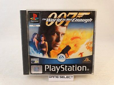 The World Is Not Enough Agente 007 James Bond Playstation Ps1 Pal Ita Completo