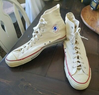 70's Vintage Converse Chuck Taylor All Star Made in USA Men Size 16
