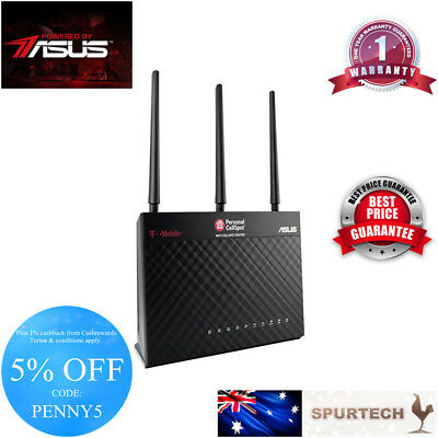 NEW ASUS Dual Band Wireless TM-AC1900 Router T-Mobile RT-AC68U AIMESH