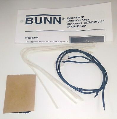 Bunn Ultra Temperature Probe Replacement Kit FACTORY PARTS 27246.1000 s