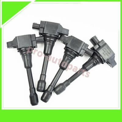 4x OEM 22448-JA00C Genuine Ignition Coil Fit Nissan Altima Rogue Sentra Versa
