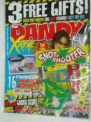 "DANDY COMIC...Aug. 2007....PLUS ""FREE GIFT ""Snot Shooter""......"