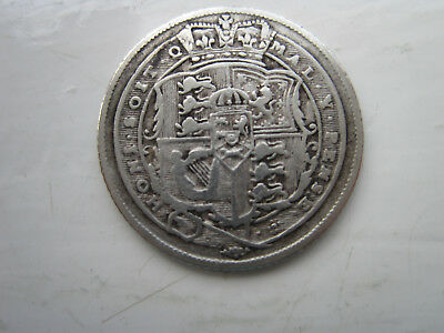 6 Pence - George III 1817 in nice condition