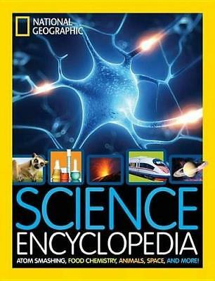 Science Encyclopedia by National Geographic Kids New Hardback Book