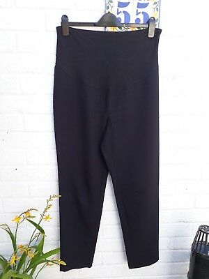Black George Maternity Trousers Size 12