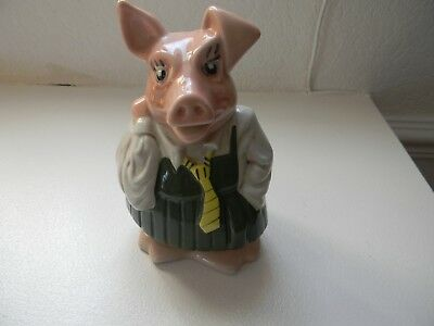 Wade Natwest Bank  Pig Money Box Annabel Perfect Condition Original Stopper