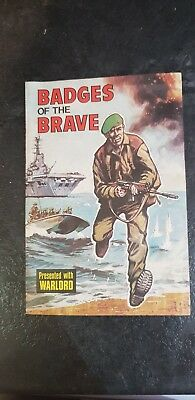 1975 Badges of the Brave comic excellent condition