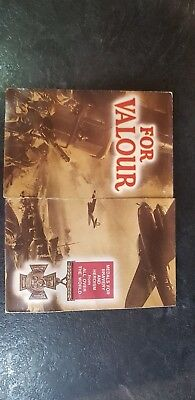 1974 For valour medal collection booklet All medals bar one