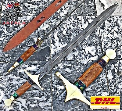"""Damascus Steel Sword 36.50"""" Inches"""
