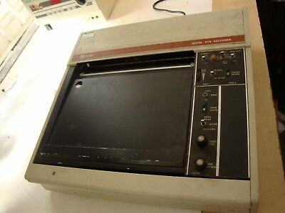 Varian Aerograph 9176-05 Laboratory Medical Chart Recorder 50/60Hz USM131