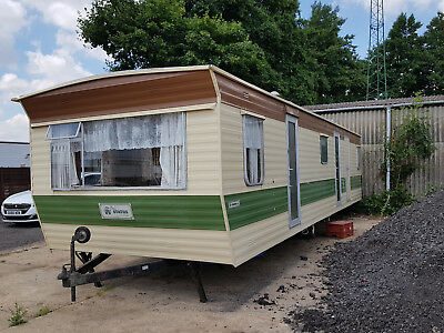 Atlas Status 34Ft Static Caravan