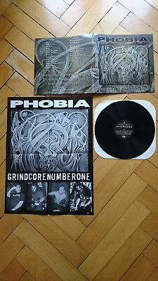 Phobia-Serenity Through Pain-Lp/assück/nasum/hellnation/spazz/hc/grind/punk/