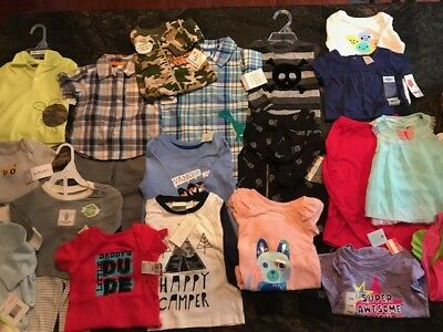 21 Piece Lot for Baby/Toddler Boys & Girls All Brand New With Tags NB-18 Months