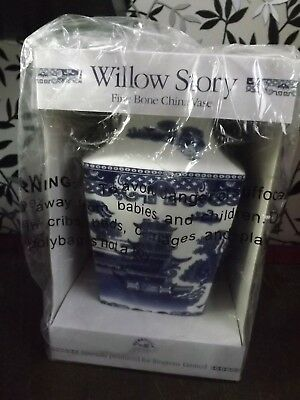 BNIB Ringtons Willow Story Fine Bone China Vase Never been out of box