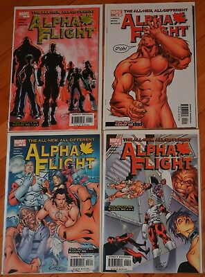 Alpha Flight vol 3 #1-12 complete by Lobdell and Henry 2004