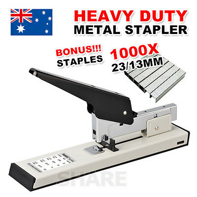 240 Sheet Heavy Duty Office Stapler Document Paper Bookbinder W/ 1000 Staple OZ