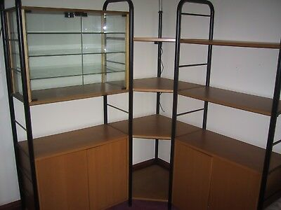 Modern Office Units, Glass Display, Cabinets, Corner Shelving Super Quality Bs21