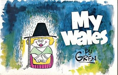Wales - Cartoons - Gren - My Wales - Rare 1971 Collection