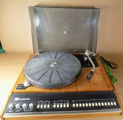 ADC ACCUTRAC 4000/EW1 TURNTABLE w/ Orig. Box & Docs