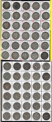 Lot Of 28 Barber Half Dollars +2 Columbian Halves- Includes Scarce Dates