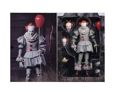 "IT (2017) Ultimate Pennywise 7"" scale action figure (2017 movie) (NECA) NEW"
