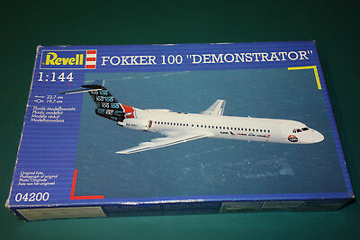 "Fokker 100 ""Demonstrator"" 1:144 Revell 4200 Top-Rarität"